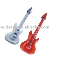 inflatable guitar\ pvc vinyl musical instrument\ inflatable toy\ advertising mode\ promotion gift and toy