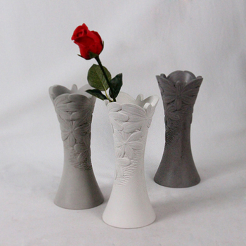 Home Decoration Cheap Wedding Cement Floor Decorative Flower Vase