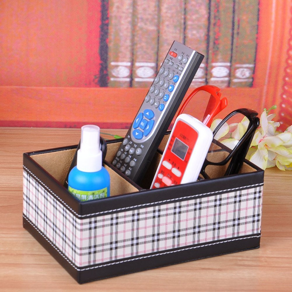 Creative Desktop Storage Boxes Stylish Storage Boxes/Living Room Coffee  Table Remote Control Storage Box