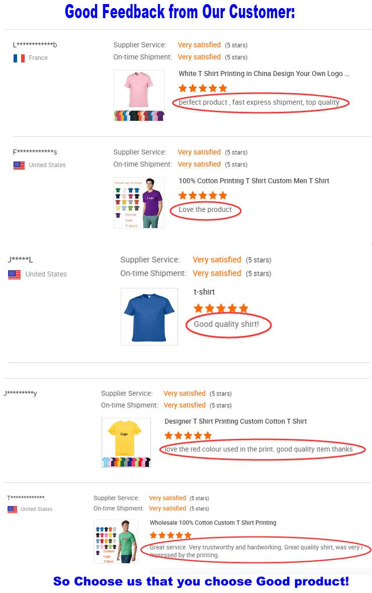 Yüksek kaliteli % 100% pamuk özel baskı erkekler T Shirt kendi tasarım marka logosu T Shirt beyaz