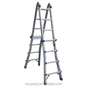 Ladder Systems Select Step 6 to 10-Feet Adjustable Aluminum Step ladder