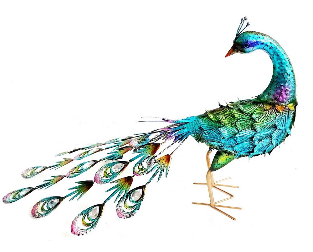 Peacock Garden Ornament, Peacock Garden Ornament Suppliers And  Manufacturers At Alibaba.com