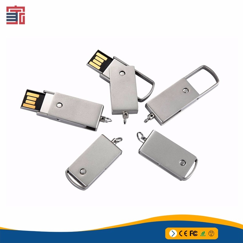 Hot selling usb flash drive 2gb 4gb 8gb 16gb 32gb metal swivel cheap usb flash