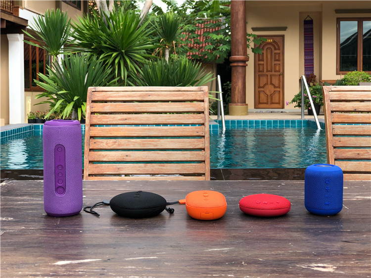 360 stereo tower speaker portable outdoor speakers bluetooth portable waterproof bluetooth speakers