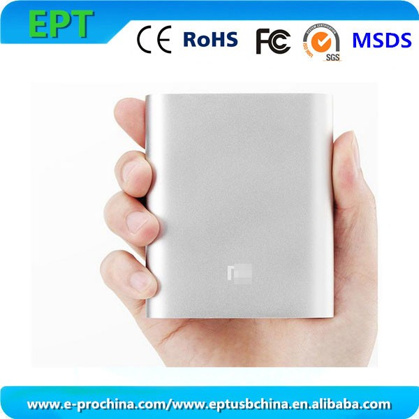 Aluminum Xiaomi 10400mAh Power Bank