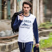 China factory wholesale egyptian cotton long sleeve t-shirt shirt