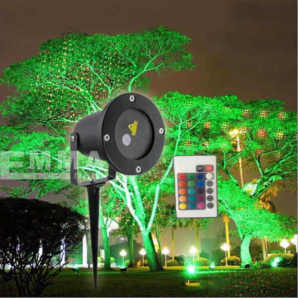 Elf Light Christmas Lights Projector Outdoor Laser/green