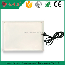 White Electric Infrared IR heating panel with painting