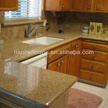 Merveilleux G682 Golden Sand Granite Countertop Budget Friendly Price