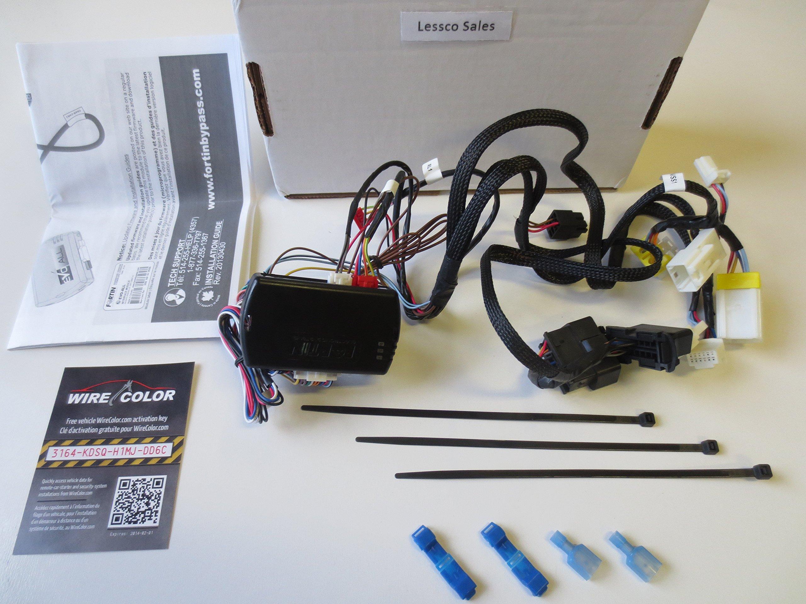 2013 2015 Nissan Altima Sedan Remote Engine Auto Start Starter Kit New