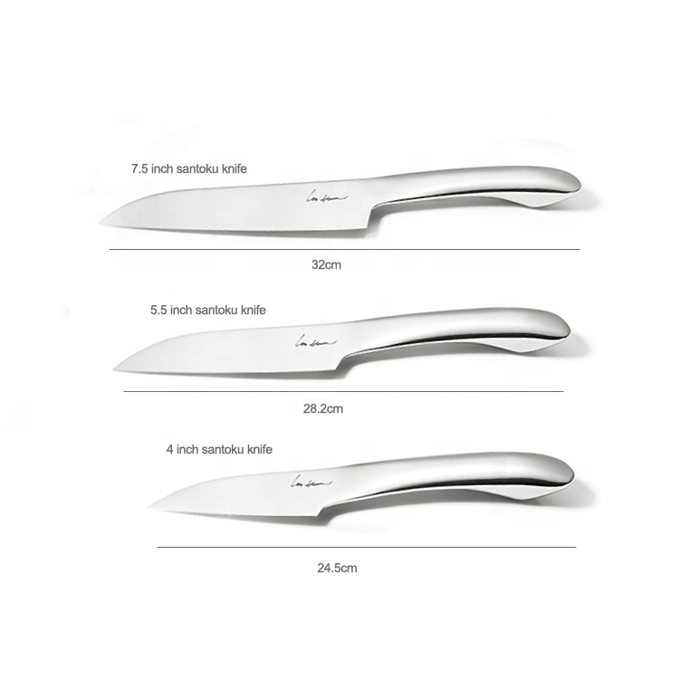 Professional Stainless Steel 7.5 inch santoku kitchen knife