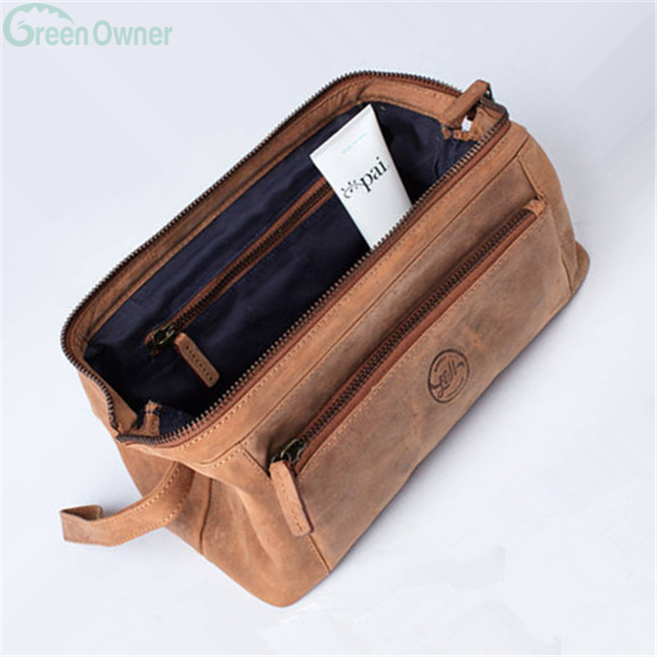 066a912e4c74 Wash Bag Dopp Kit With Personalized Leather Shaving Bag Toiletry Bag  CO-035. 2018 New Coming Mens ...