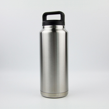 36oz Personalized growler double wall stainless steel bottle beer thermos