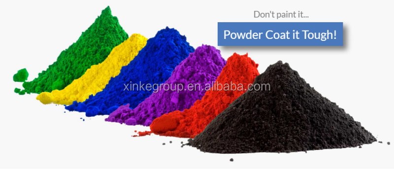 high quality metallic epoxy polyester powder coating
