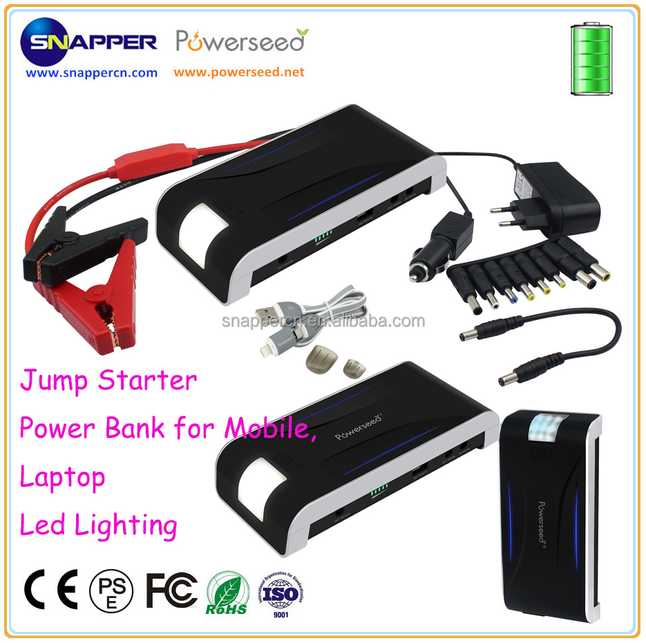 Best Accessories for Car 13000mAh Emergency Car Battery Portable Power Pack