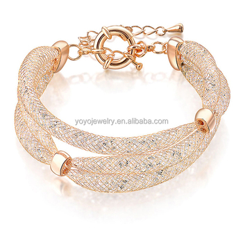 Wholesale Fashion Accessories Boy And Girl Cheap Gold Bracelet