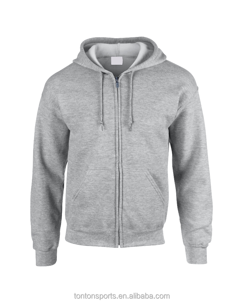 High quality custom logo polyester and cotton hoodie sweatshirt