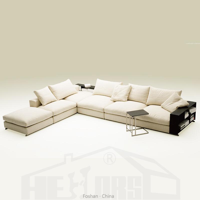 Superb European Style White Fabric L Shape Sofa Furniture Poland Hs155H Buy Furniture Poland L Shape Sofa Fabric Sofa Product On Alibaba Com Machost Co Dining Chair Design Ideas Machostcouk