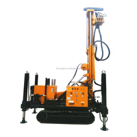 800m Depth Trailer Mounted Borehole Water Well Drilling Rig machine