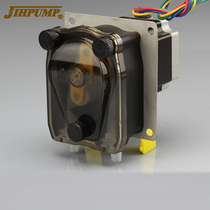 JIHPUMP 12v Dc Food Automatic Pump Circulation Pump 24v Small Silent Self-priming Mini Peristaltic Pump