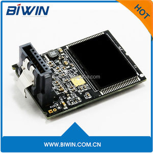 High performance SATA dome memory, MLC 7pin ssd horizontal/Vertical solid state drive for Surveillance Medical device