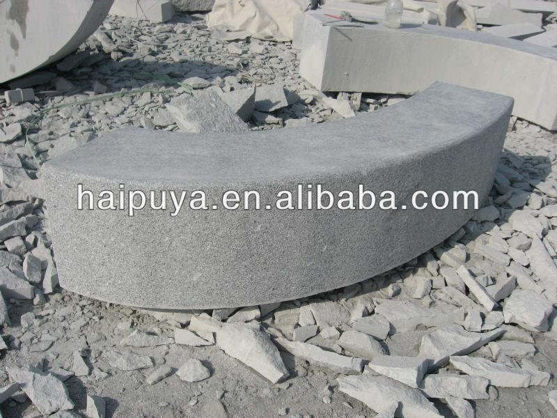 Granite Curb Pricing : G xám granite curb với giá cả bê tông curbstones mã sản