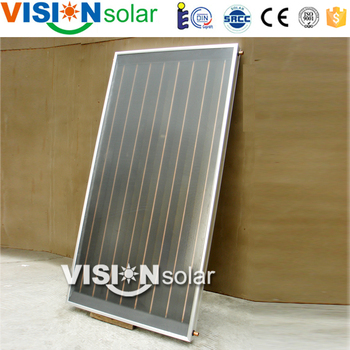 Super quality China homemade solar pool heater with flat panel
