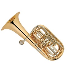 Gold lack Cupronickel tuning rohr und leadpipe <span class=keywords><strong>Tuba</strong></span> 4 Dreh Ton F/<span class=keywords><strong>Eb</strong></span> schlüssel