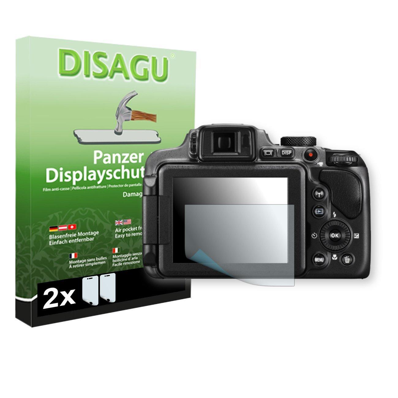 2 x DISAGU Armor screen protector for Nikon COOLPIX P610 screen fracture protection film