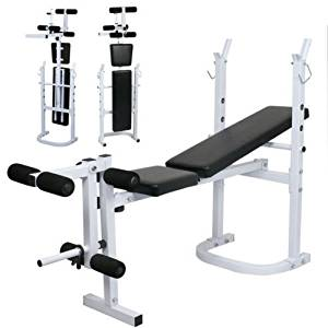 Get Quotations · Home Lift Workout Press Body Solid Olympic Folding Weight  3 Bench Incline