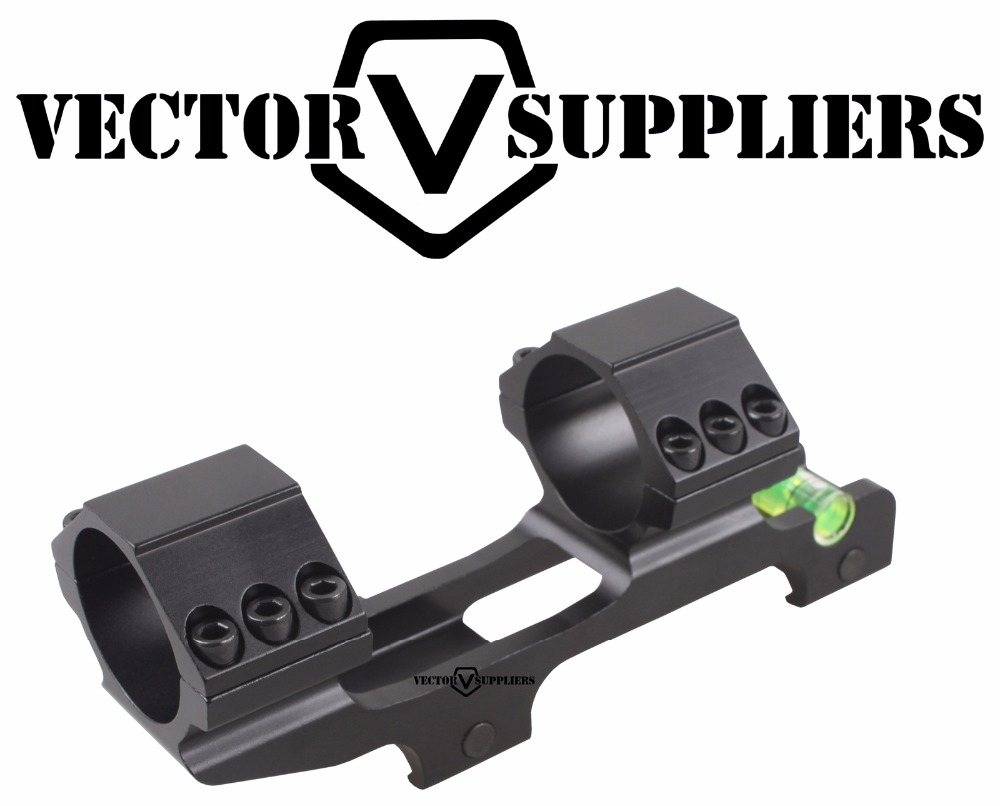 "Vector Optics 30mm One Piece Extra Light ACD Scope Mount Anti Cant Device ACD Bubble Level Mount w/ 1"" Adapter 139mm 5.5"""