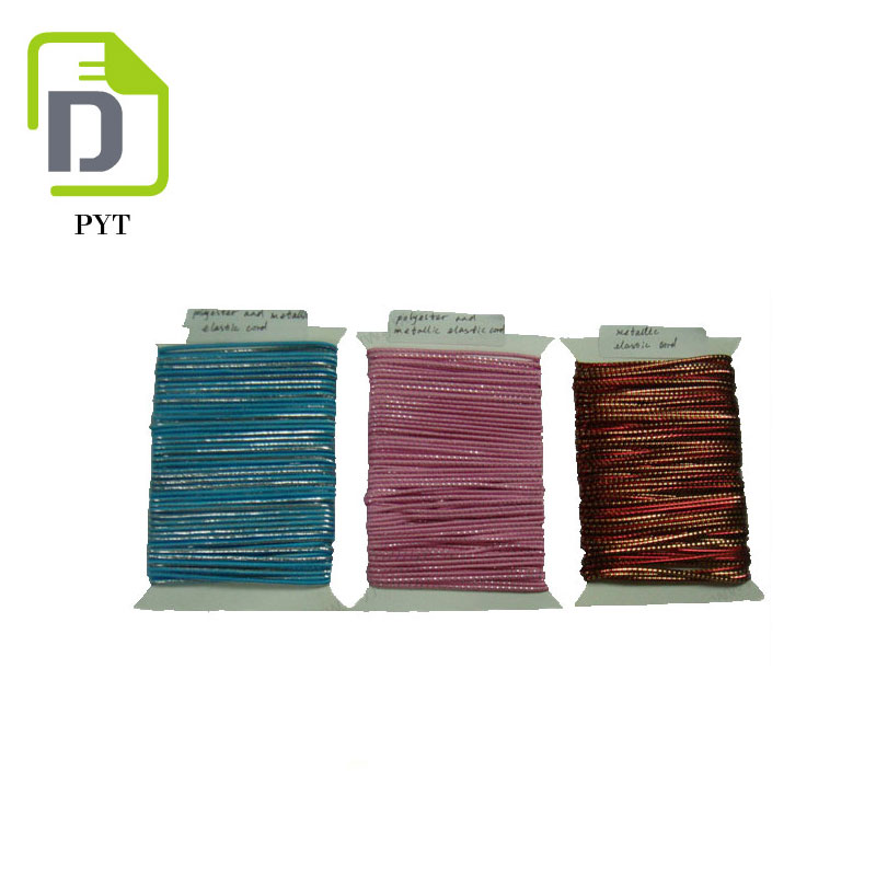 Factory Direct Sell Bungee Flat Elastic Cord With Variety Color Supply