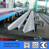 Quality Cold Rolled C / Z / U Section Steel Purlin , Used for Studs , Floor Joists , Roof Beam & Wall Girt