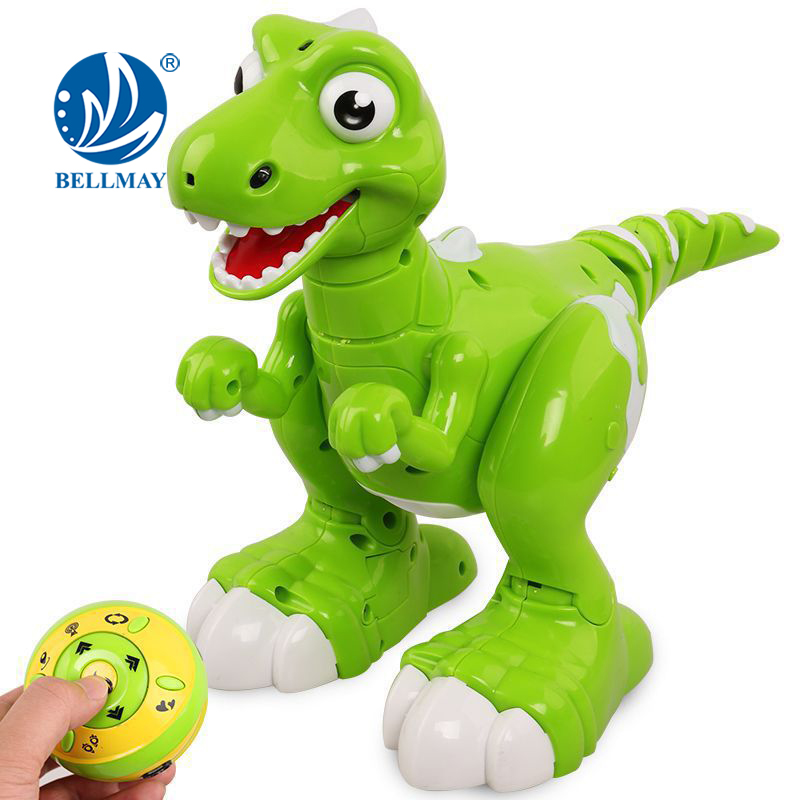 Bo Toys Remote Control Interactive Dinosaur , Dancing, Music ,Mist breathing out of his mouth, Auto demo