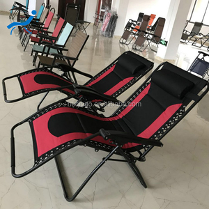 178*75*90cm Size economical red and black color lazy lounger for promotion