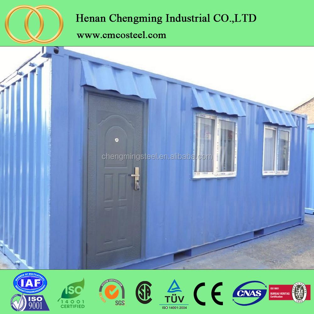 Modulare living pieghevole di trasporto prefabbricata casa in legno kit prezzo basso costo - Casa container prezzo ...