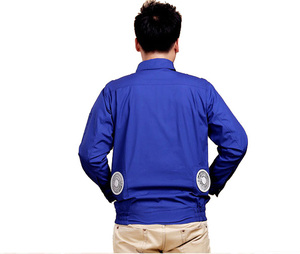 Fan cooling air conditioning clothes uniform jacket for summer