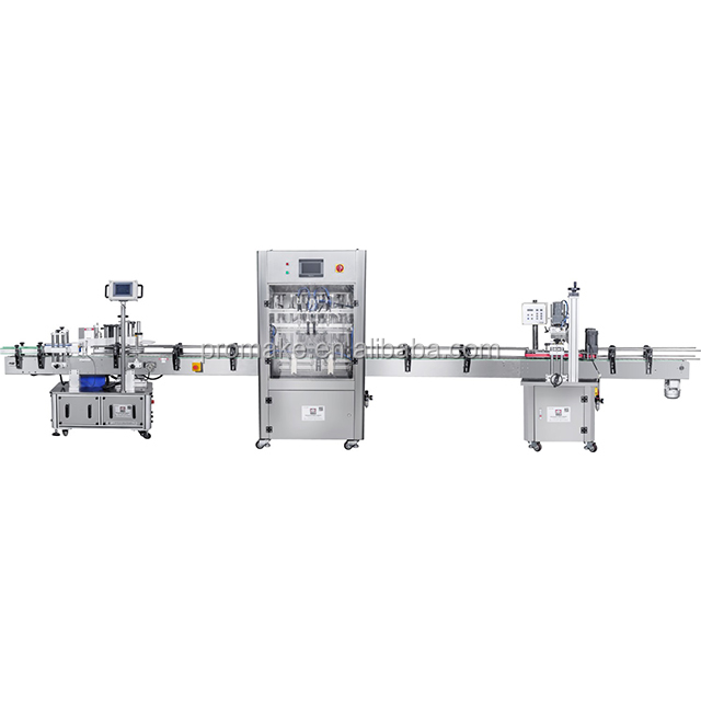GVT automatic cosmetic filling production line