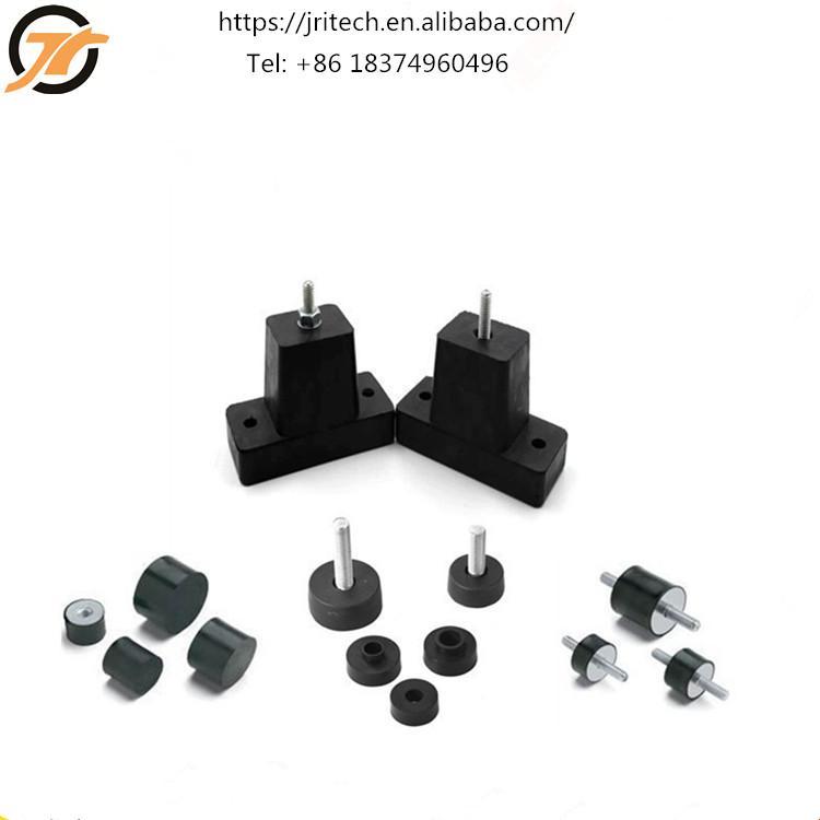 Furniture Botique Rubber Anti Vibration Isolator Absorber Base Foot Pad 20pcs Black Online Discount