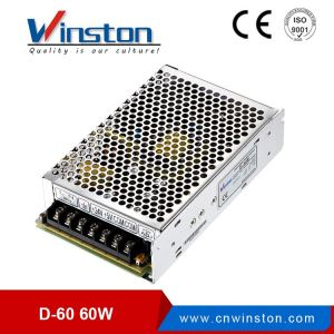 Industrial Universal Use D-60A 60W 5V 12V Dual Output Power Source