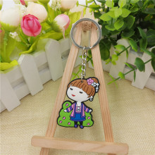 Xinli Factory OEM 고무 Pvc Keychain Customized 키 링