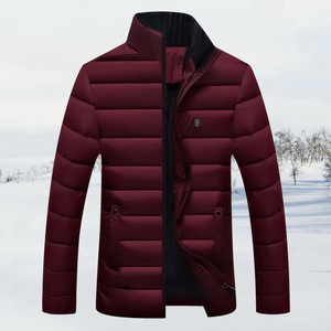 short style custom heated jacket mens cotton padding jacket