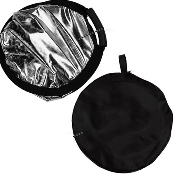 60CM 2 in 1 Portable triangle Studio Photo reflector Collapsible Photographic Lighting Reflector+ handle bar (6).jpg