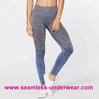 c43b5d5aa3771 Seamless Gym Wear Ombre Leggings Gym Clothing Women - Buy ...