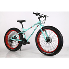 Variable speed bike cross-country and snow Bicycle 4.0 Ultra wide tyres Mountain Bike Cycling