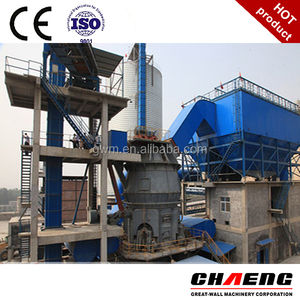 ground granulated blast furnace slag powder plant