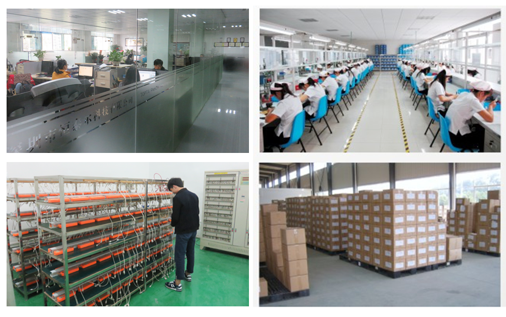 TOPTAI Power Bank factory