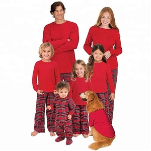 Wholesale Monogrammed Stripe Christmas Holiday Family Pajamas 9796d55f3