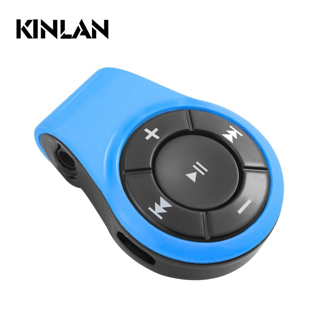 KINLAN Wireless V4.1 Transmitter Receiver Portable 2-in-1 Wireless Audio Adapter / Car Kit with 3.5mm Stereo Output
