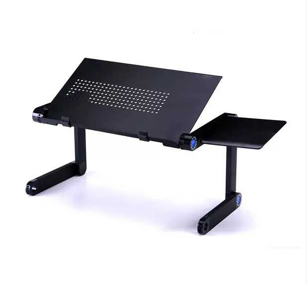 Mesa portátil para a Cama, Home Office Notebook PC Lap Desk Stand com Mouse Pad, ajustável Laptop Stand com mouse pad